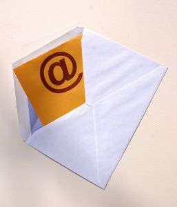 use email to promote social media