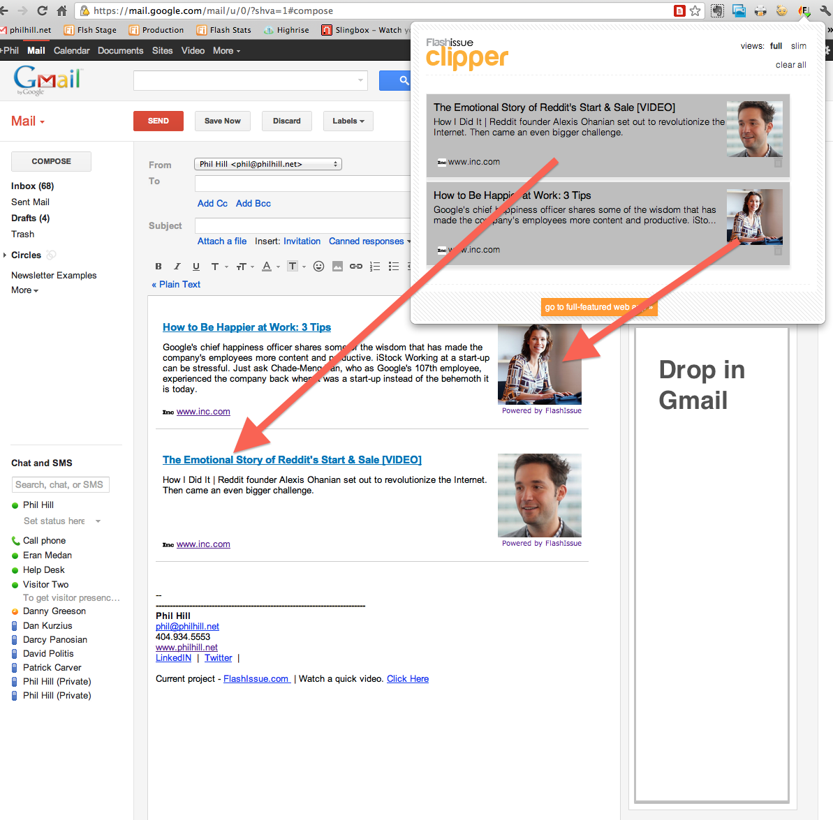 How To Create A Newsletter In Gmail Flashissue Blog